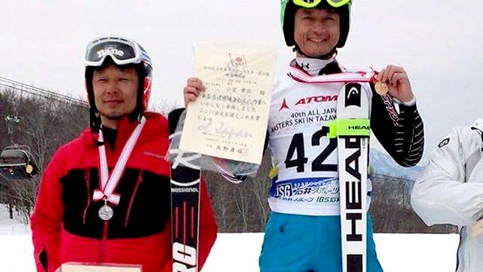 【報告】3/6 第40回全日本マスターズスキー選手権
